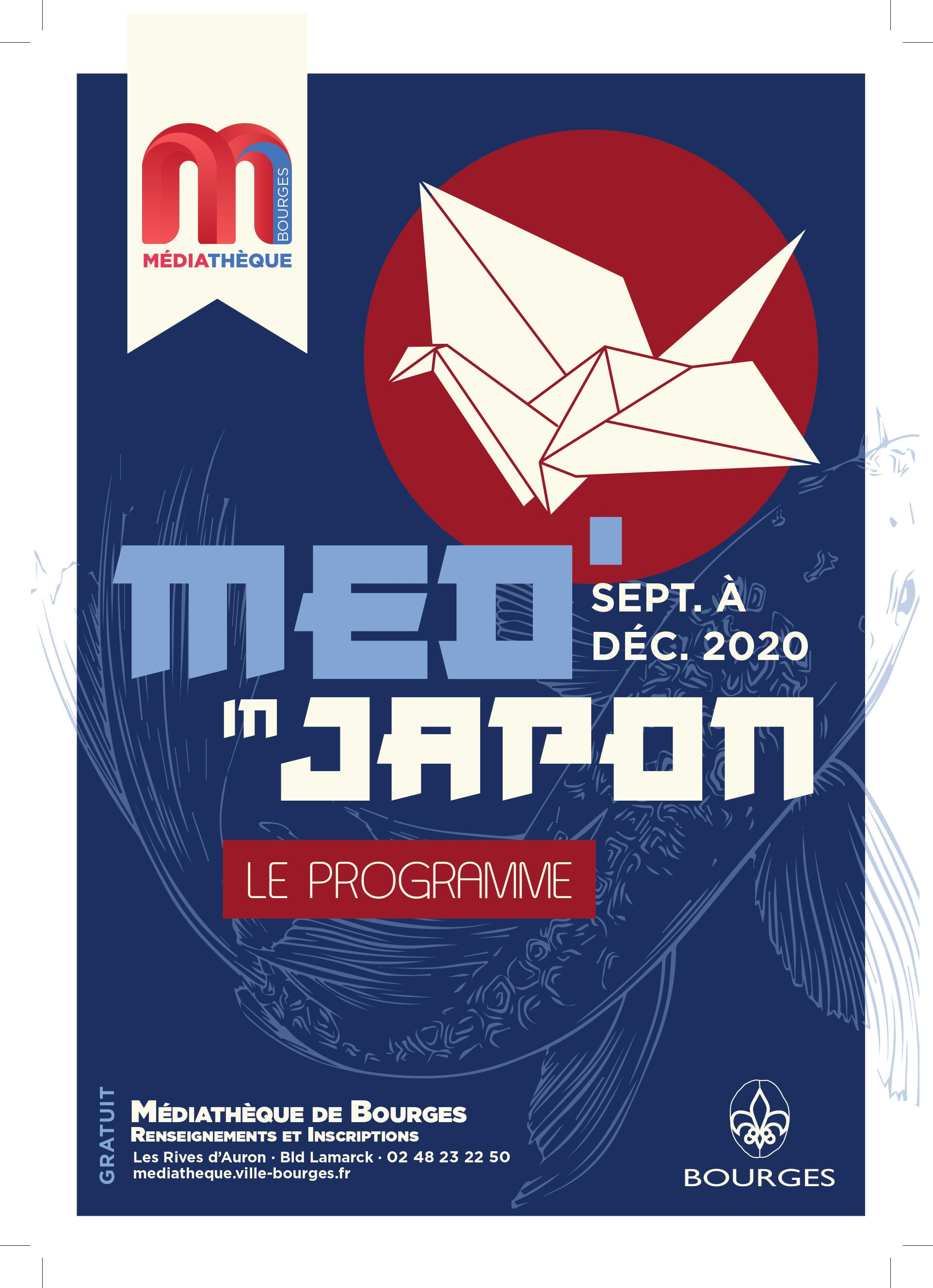 "Programme de l'expo ""Med in Japon"""
