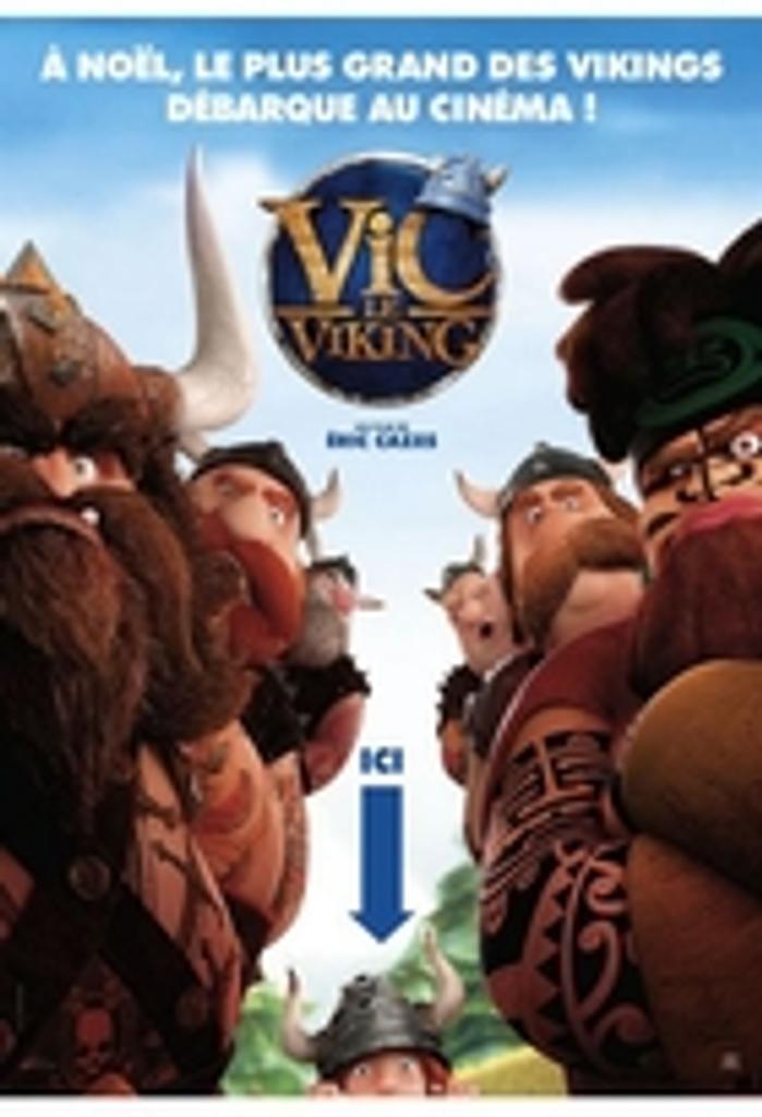 Vic le Viking / Film d'animation d'Éric Cazes   
