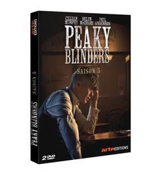 Peaky Blinders : Saison 5, épisodes 1 à 3 / série créée par Steven Knight | Knight, Steven. Auteur. Scénariste
