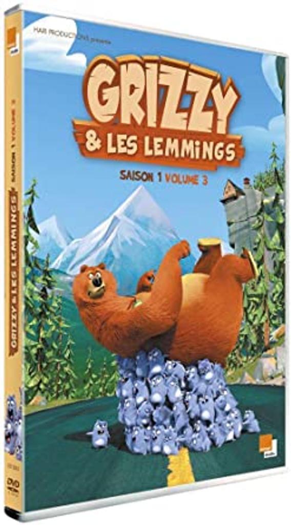 Grizzy et les Lemmings . Saison 1, épisodes 53 à 78 / Série animée de Josselin Charier et Antoine Rodelet |