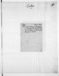 Recueil de notes généalogiques sur les familles du Berry - Lettre C / Paulin Riffé | Riffé, Paulin. Auteur