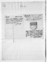Recueil de notes généalogiques sur les familles du Berry - Lettre R / Paulin Riffé | Riffé, Paulin. Auteur