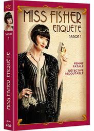 Miss Fischer enquête : Saison 1 : épisodes 1 à 7 / Série télévisée de Deb Cox et Fiona Eagger    Cox, Deborah. Auteur