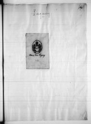 Recueil de notes généalogiques sur les familles du Nivernais - Lettre P / Paulin Riffé | Riffé, Paulin. Auteur