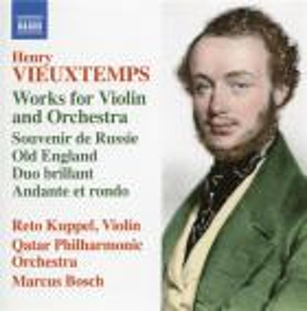 Works for violin and orchestra / Henri Vieuxtemps  |