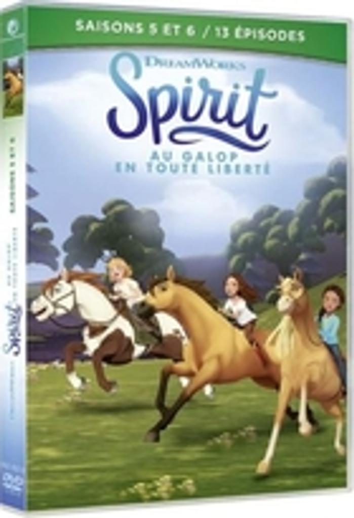 Spirit : Au galop en toute liberté : saison 6. 6 / un film de Josh Taback, Beth Sleven et Julia Fitzmaurice  