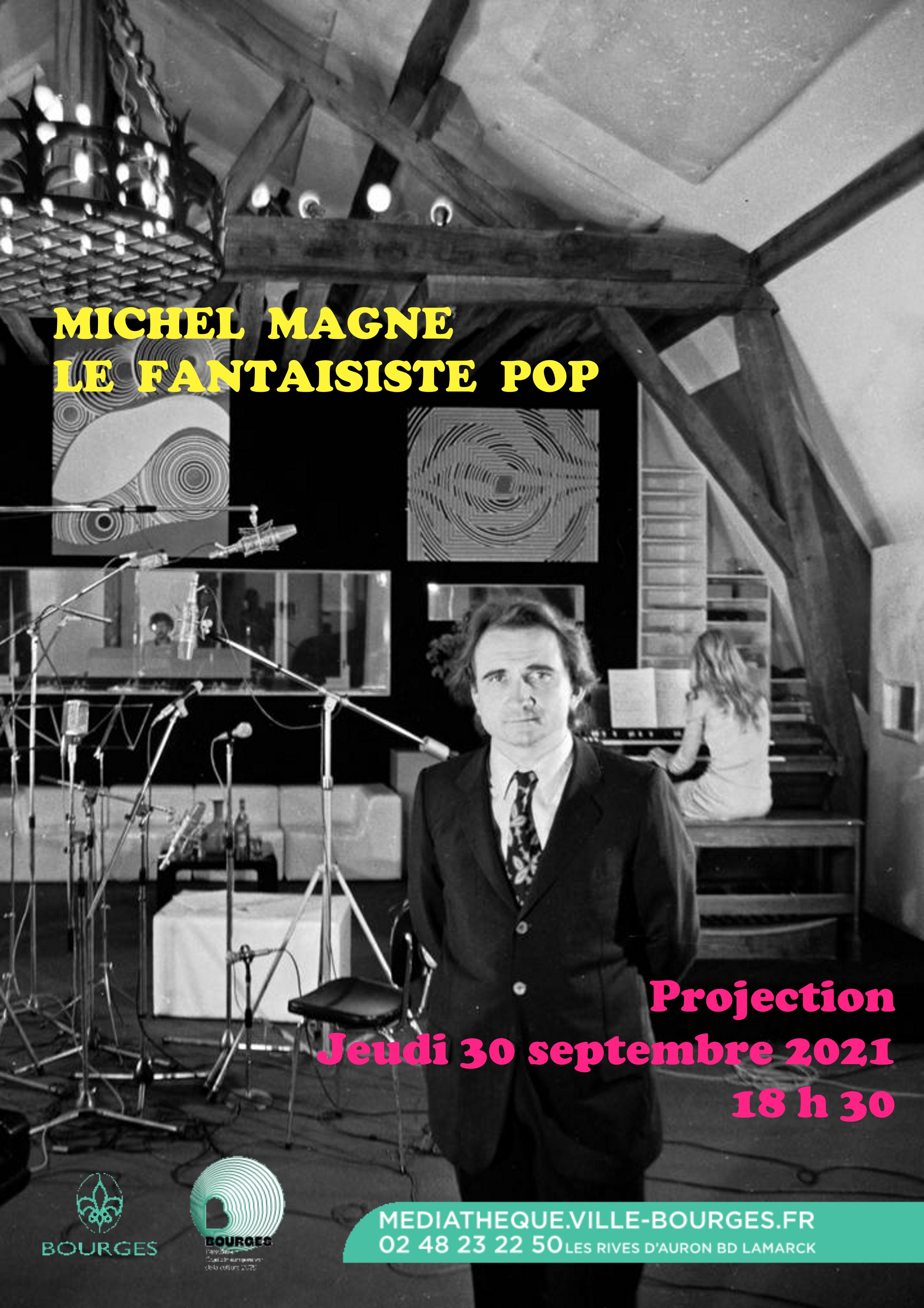 Michel Magne, le fantaisiste pop  