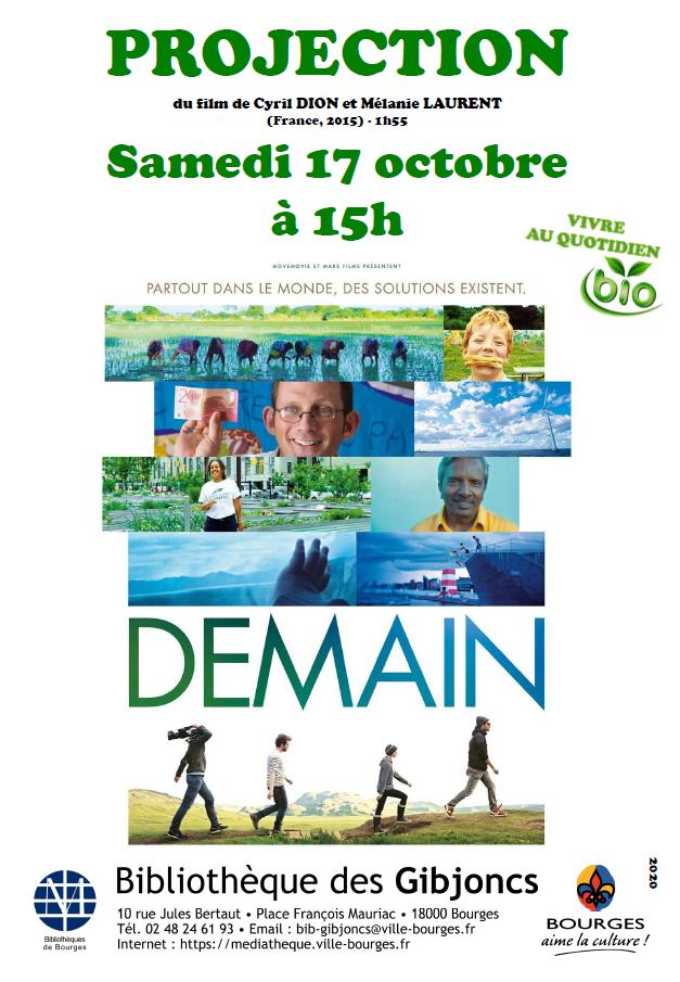 DEMAIN, film documentaire de Cyril Dion et Mélanie Laurent (2015) |