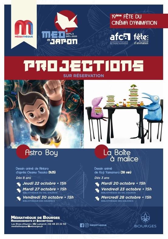 Projection - La Boîte à malice  