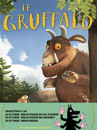 Projection - Gruffalo |