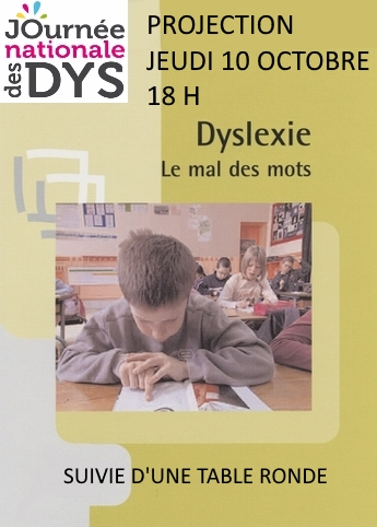 Projection - Dyslexie, le mal des mots |